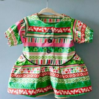 Sew & Tell: Zig Zag Dress