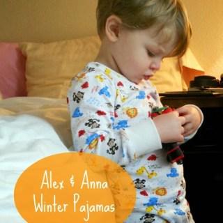 Sew & Tell: Alex & Anna Winter Pajamas