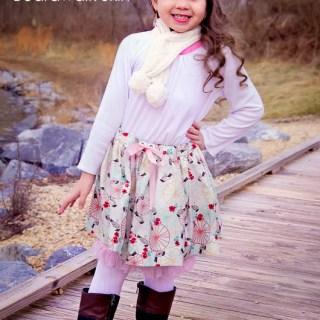 Sew & Tell: Carousel Top & Boardwalk Skirt