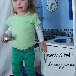 Sew & Tell: Skinny Jeans