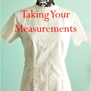 taking your measurements