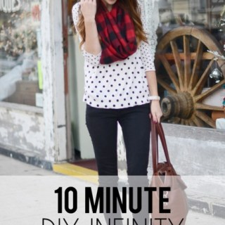 10 Minute Infinity Scarf Tutorial