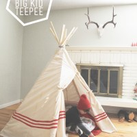 big kid teepee