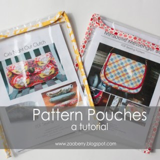 Pattern Pouch Tutorial