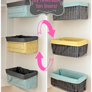 Reversible Wire Basket Liners Tutorial