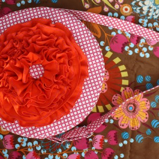 Red Poppy Bag Tutorial