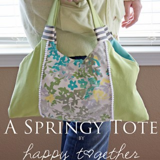 Springy Tote Tutorial
