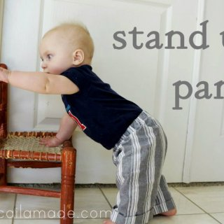 Stand Up Pants Tutorial