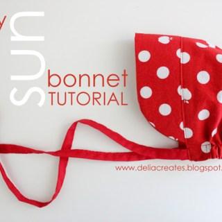 Baby Sun Bonnet Tutorial