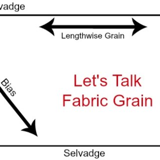 Fabric Grain Tutorial