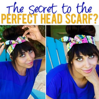 Perfect Head Scarf Tutorial