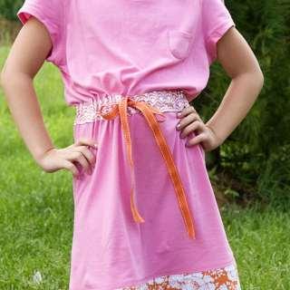 Two Tee Shirt Summer Dress Tutorial