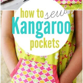 How to Sew Kangaroo Pockets Tutorial
