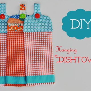 Hanging Dishtowel Tutorial