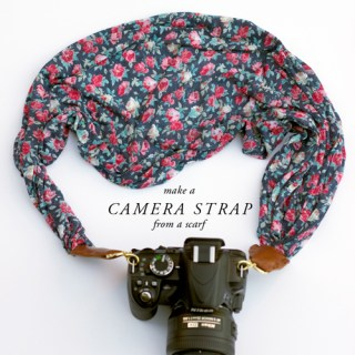 Scarf Camera Strap Tutorial