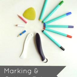 Marking + Cutting Fabric