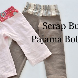 Scrap Buster Pajama Pants Tutorial
