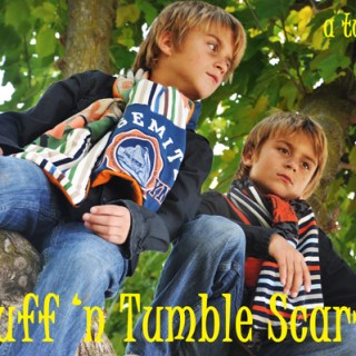 Ruff 'n Tumble Scarf Tutorial