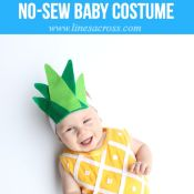 DIY Hanmade Pineapple Costume Halloween Baby