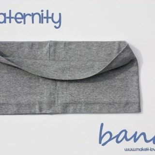 Maternity Belly Bands Tutorial