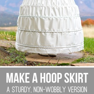 Hoop Skirt Tutorial