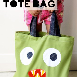 Monster Tote Bag Tutorial