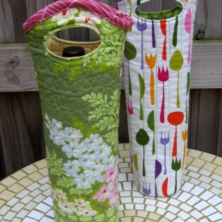 Quilted Wine Tote Tutorial