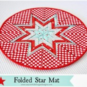 Folded+Star+Mat+++1