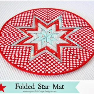 Folded Star Mat Tutorial