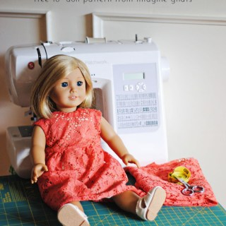 18 Inch Doll Dress Tutorial
