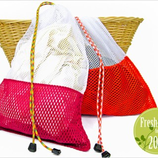 Mesh Laundry Bag Tutorial