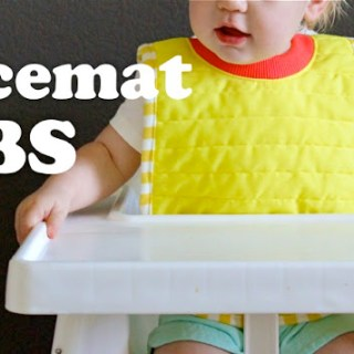 Placemat Bib Tutorial