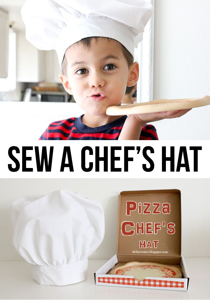 chef hat tutorial - Sewtorial