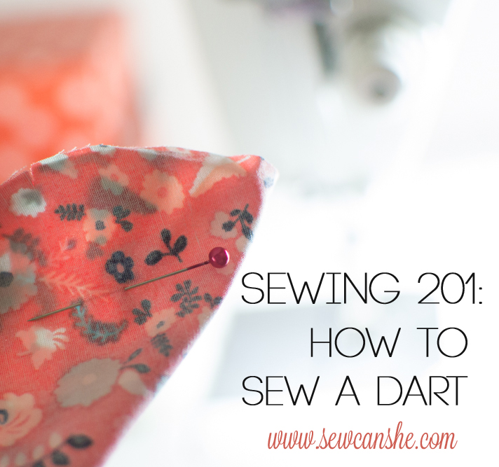 How to sew a dart by Sew Can She - Sewtorial