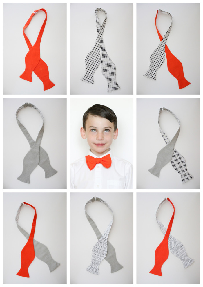 bow tie free pattern and tutorial