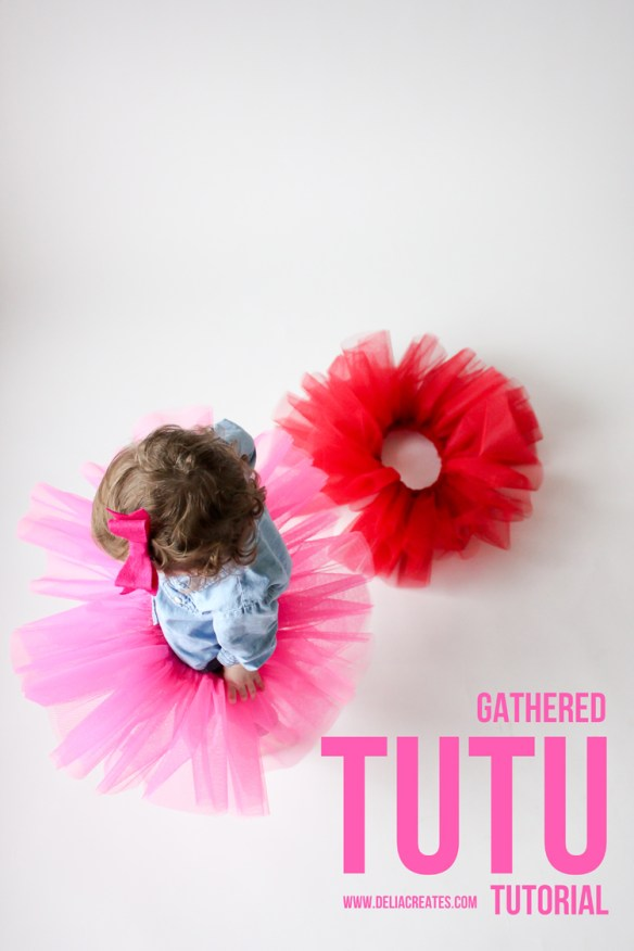 DIY Gathered Tutu by Delia Creates - Sewtorial