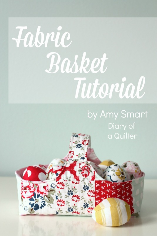 Riley Blake Designs shares this fun fabric basket that's perfect for your next egg hunt or to display something lovely.