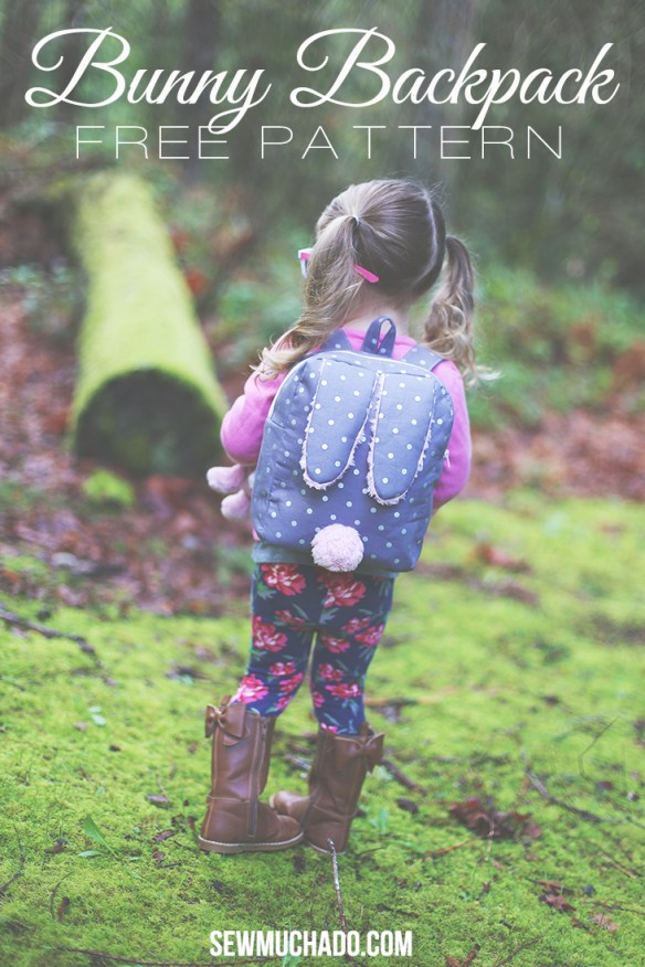 Keep your little one hoppin' along with this fun backpack pattern and tutorial by Sew Much Ado. - Sewtorial