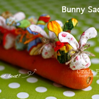 With Easter just a hop away, bunnies are popping up everywhere. Craft Passion shares a tutorial for bunny sachets that will sweeten up any room. -Sewtorial