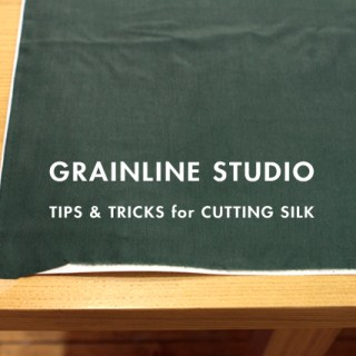 How to Cut Silk