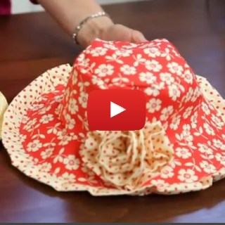 Ready for the warm weather? Protect delicate skin in this stylish reversible sun hat by April Cobbs. Riley Blake shares the video tutorial. - Sewtorial