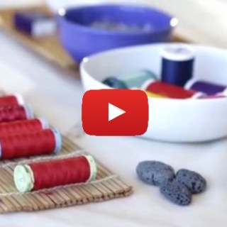Learn the basics of needle and thread selection in this video tutorial by Creative Bug. - Sewtorial