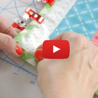 In this video tutorial, the Fat Quarter Shop demonstrates how to use backing fabric as binding to create a different look. -Sewtotial