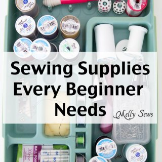 Sewing Supplies 101