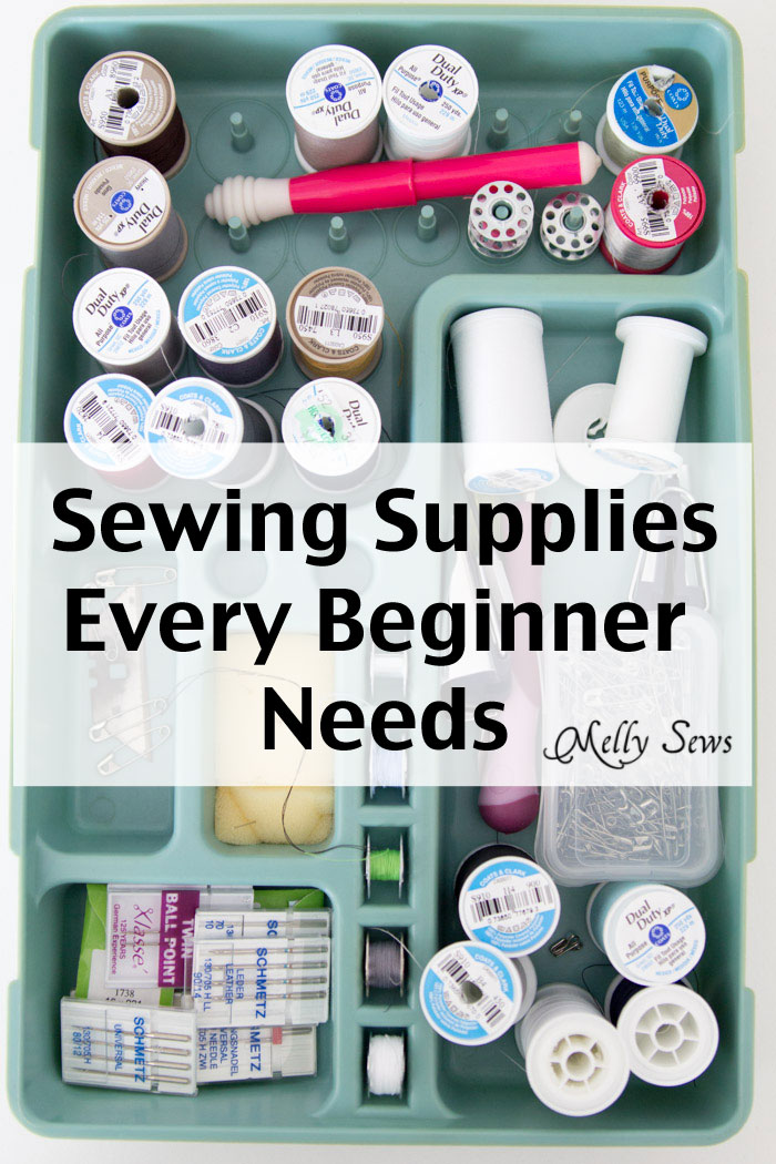"""Are you new to sewing? Learn which supplies will get you started with confidence in this """"Sewing Supplies 101"""" primer from Melly Sews. - Sewtorial"""