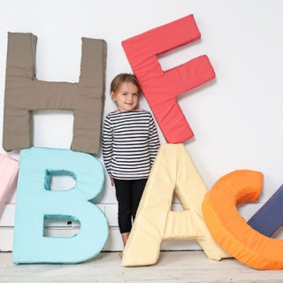 Here's a project to make the little kids (and kids at heart) in your life happy! Learn to create Giant Foam Letters in this post by Oh Happy Day. -Sewtorial