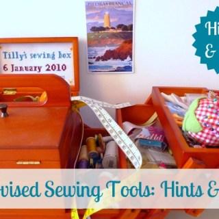 Improvised Sewing Tools