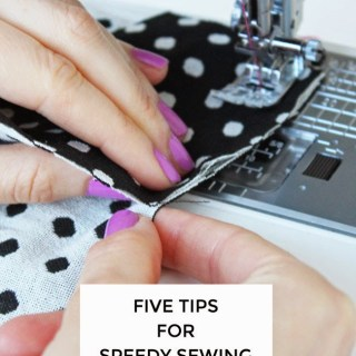 Tilly and the Buttons shares tips for speedy sewing including which techniques are time savers and which ones are okay leave behind. -Sewtorial
