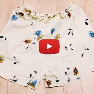 In this video tutorial by With Wendy, you'll learn how to make no pattern shorts using an existing pair of well-fitting jeans. - Sewtorial