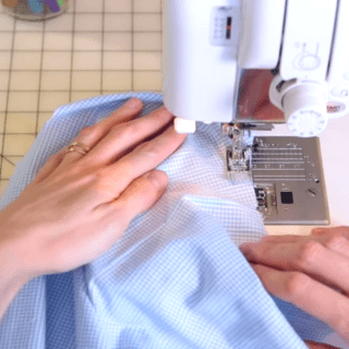 How to Sew Stay Stitching